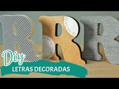 DIY DIA DOS NAMORADOS | Letras decoradas | Por GavetaMix - YouTube