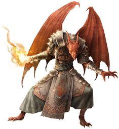 half dragon d&d - Buscar con Google