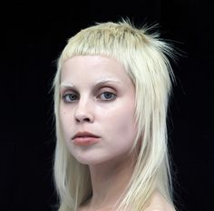 who doesn't love a good mullet? yolandi visser sports a pretty sweet one <3