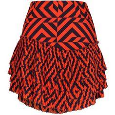 Siobhan Molloy - Gracie Tiered Pleated Mini Skirt
