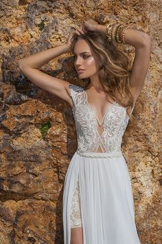 Julie Vino Spring 2015 Quartet Collection @weddingchicks