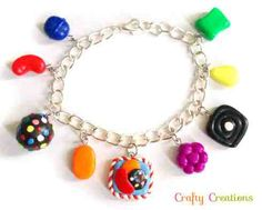 Candy Crush bracelet available on Etsy Saga Art, Candy Crush Saga, Kids Events, Special Gifts, Crushes, Product Launch, Charmed, Unique Jewelry, Handmade Gifts