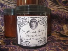 Floral Notes Natural Creme Soap by TheScentedDjinn on Etsy