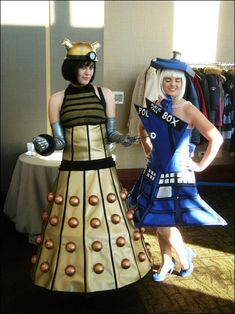 Tardis and Dalek Costumes - AWESOME!