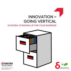 Kyocera Goes Beyond Hardware and introduces The NEW concept of Vertical Filiing system ...Check Out More Info...  http://bit.ly/1mZ2I2i