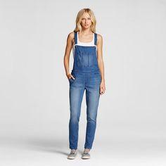 Women's Denim Overall - Mossimo® - ESSENTIAL BLUE