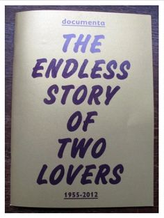 The bauhaus in calcutta an encounter of the cosmopolitan avant documenta 1955 2012 the endless story of two lovers fandeluxe Image collections