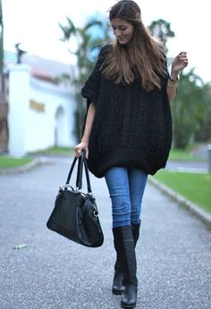Nowistyle  Sweaters, OASAP.com  Bags and Nowistyle  Boots