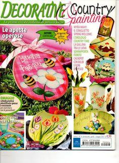 Decorative Country Painting 4 - TereBauer 1 - Álbuns da web do Picasa...FREE MAGAZINES!!