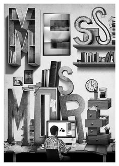 mess is more - jeff rogers via uppercase