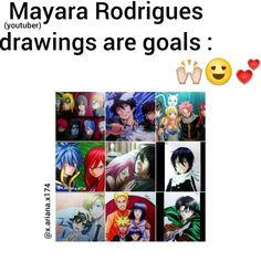Mayara Rodrigues drawings are goals