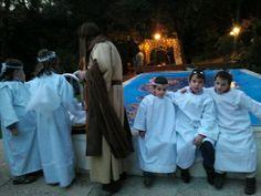 Angelets del Pessebre Vivent Camí de l'Oliva. Matadepera Terrassa