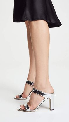 711134b67e5 online shopping for Giuseppe Zanotti Metallic Mule Sandals from top store.  See new offer for Giuseppe Zanotti Metallic Mule Sandals
