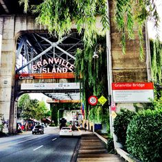 We ALL love Granville Island. Here you can find Clarence Mills in the Longhouse…