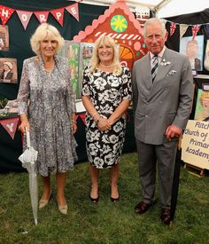 Prince Charles and Duchess Camilla visit Sandringham Flower Show 2016