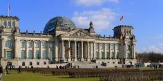 O famoso Parlamento alemão em Berlim e sua história
