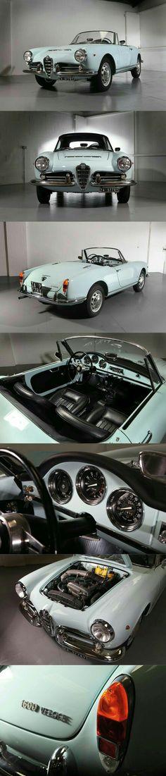 1965 Alfa Romeo Gulia Spider 1600 Veloce/Pininfarina