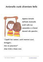 """La mia favola """"Antonella vuole diventare bella"""" in versione flipbook"""