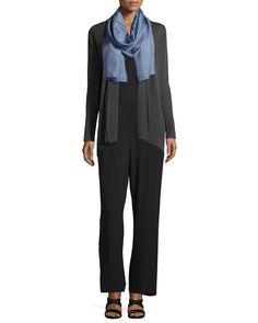 Silk Georgette Bark pants