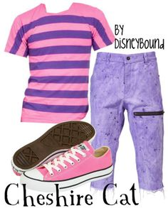 cheshire cat -the shorts are awful...but I love the shirt & shoes!!
