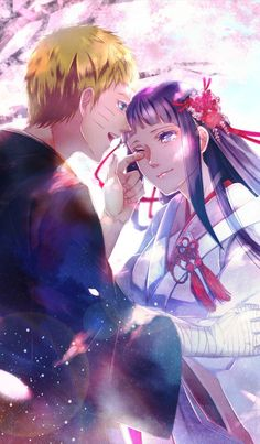 Naruto + Hinata,