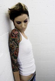 Beautiful Tattoos for Men, Women & Tattoo Ideas - Mr Pilgrim graffiti artist - www.mrpilgrim.co.uk
