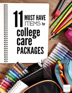 11 Must Have Items for College Care Packages - Guy or Girl? Freshman or Senior? Regardless of the age, here are 11 Must Have Items For College Care Packages.