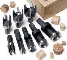 MLCS 8 piece plug cutter set #woodworkingtools