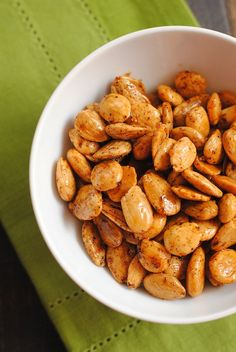 Marcona Almonds with Smoked Paprika - Preheat oven to 350°F. Toss 2 ...