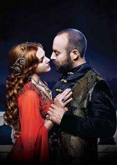 Sultan Suleyman (Halit Ergenç) & Hürrem Sultan (Meryem Uzerli) ¤ The Magnificent Century ¤ Muhteşem Yüzyıl ¤ حريم السلطان ¤