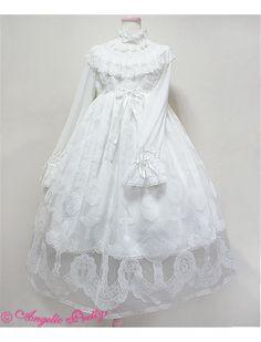 17bc9f39e5992 Angelic Pretty Heavenly Cross OP in White