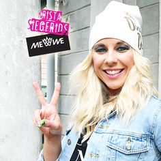 #TeamDingDong #hat on #KristaSiegfrids #ethical #streetfashion for team members