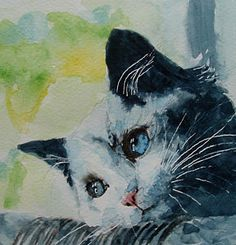 Peinture pour chats - Tenir plus près de mince danseuse par Paul Lovering
