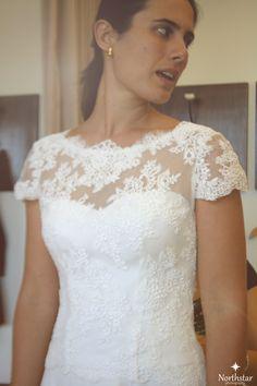 Vestido de noiva boho chic. Veja mais acessando nosso blog: http://paulabypaula.blogspot.com.br/