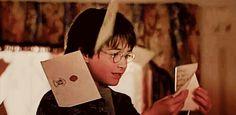 (Gif) letter of Hogwarts..but my letter??