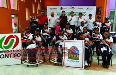 Abandera Mariana Zorrilla de Borge a deportistas Paralímpicos