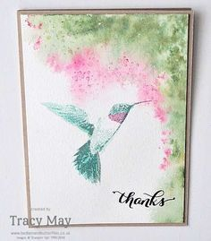 Picture Perfect Watercolouring with Stampin' Write Markers