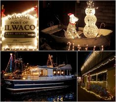 Sally Lee by the Sea: {Coastal Christmas - Day 9} Small Coastal Town Christmas