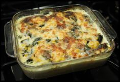 Although this recipe for polenta casserole calls for canned green chiles, I use poblano peppers that I've roasted myself at home. Roasting peppers is actually very simple: all you need is an …