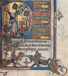 The Aspremont Psalter-Hours. c. 1300