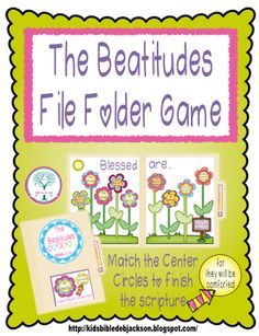 What is a File Folder Game?