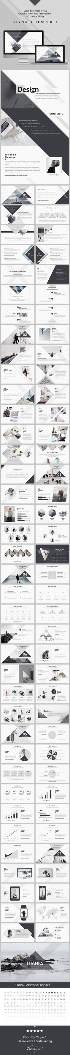 Business infographic : Design Clean & Creative Keynote Template Creative Keynote Templates
