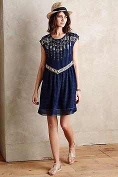 Anthropologie EU Moonlight Savanna Dress