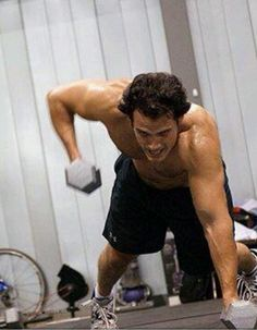 Henry Cavill. This move will shred your sides & work your core!
