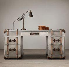 """Richards' Metal Trunk Desk"" https://sumally.com/p/988414?object_id=ref%3AkwHNPvaBoXDOAA8U_g%3ADbeo"