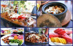 Turkish Food At Olive Garden Restaurant, Kabak #turkishfood #fethiye #turkey