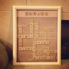 Diy gifts for dad for christmas from kids family trees 45 Id.- Diy gifts for dad for christmas from kids family trees 45 Ideas Diy Christmas Presents, Christmas Gift For Dad, Homemade Christmas Gifts, Homemade Gifts, Christmas Crafts, Mom Presents, Family Christmas, Xmas, Scrabble Kunst