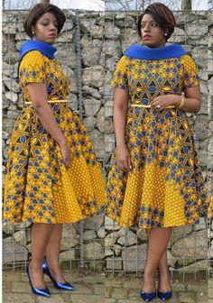 See these latest Ankara Styles - Wedding Digest Naija African Print Dress Designs, African Print Dresses, African Fashion Dresses, African Dress, African American Fashion, African Print Fashion, Africa Fashion, African Attire, African Wear
