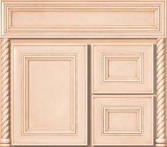 "Bertch 24 Bathroom Vanity vanity base bertch osage 24"" two doors vs. draws - mocha stain"