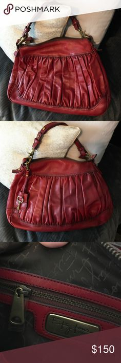 Fifty Four by FOSSIL Red Leather purse 243fef89cf